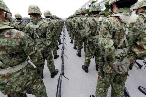 Self Defense Force、自衛隊