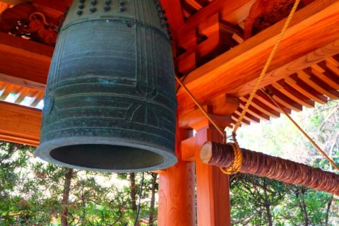 Temple bell, お寺の鐘