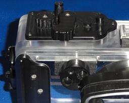 Seatool社HX5V用ハウジングの光ケーブル用アダプタ
