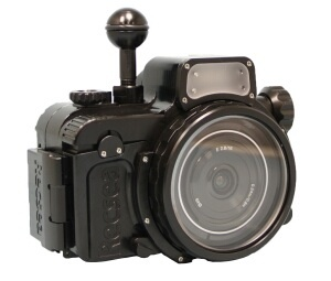 Seatool αNEX-5用ハウジング(パンケーキレンズ仕様)