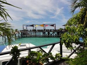 桟橋からの景色