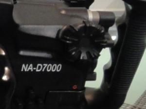 Naticam D7000ハウジングのグリグリ