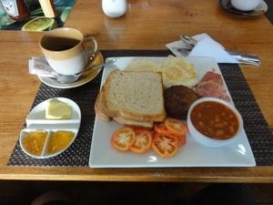 SOGOD BAY SCUBA RESORTの朝食