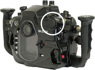 Nauticam D7000ハウジングのメインコマンドダイヤル