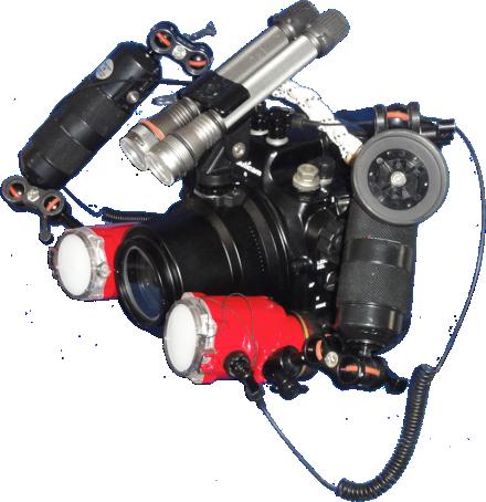 D7000のハウジングセット(フル装備)