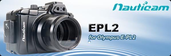Nauticam EPL2ハウジングのバナー
