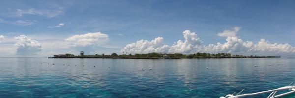 穏やかなフィリピンの海