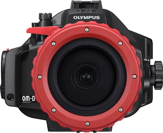 OLYMPUS OM-Dの純正ハウジング