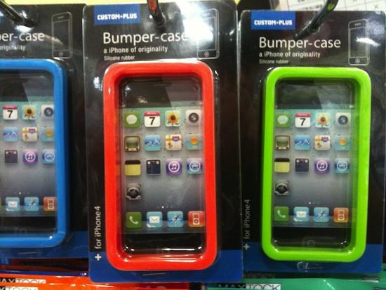 iPhone バンパー