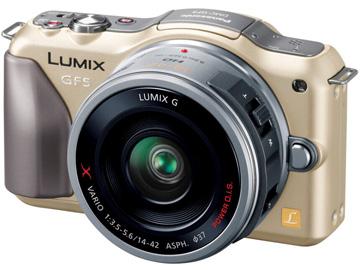LUMIX DMC-GF5(シャンパンゴールド)