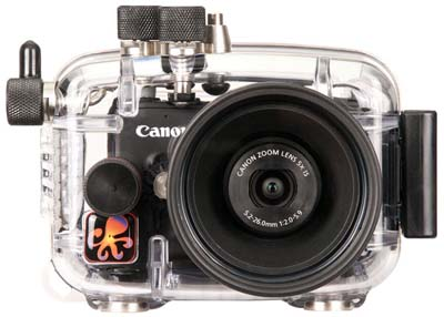 IKELITE Canon Powershot S100用水中ハウジング