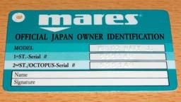マレスのワランティカード