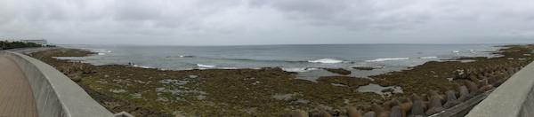 砂辺の海岸