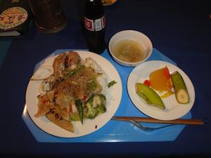 三日目の夕食