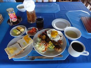 四日目の朝食