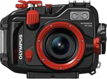 Olympus XZ-2用水中プロテクター(水中ハウジング)
