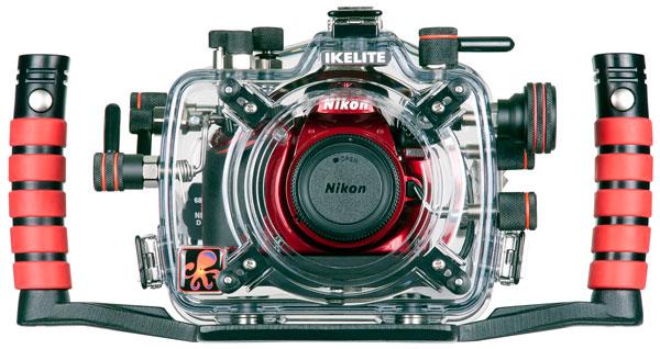 Ikelite製D3200用水中ハウジング
