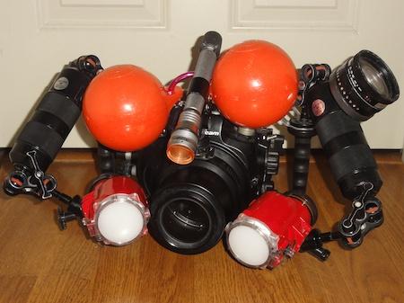 Nikon D7000 & Nauticam D7000水中カメラセット