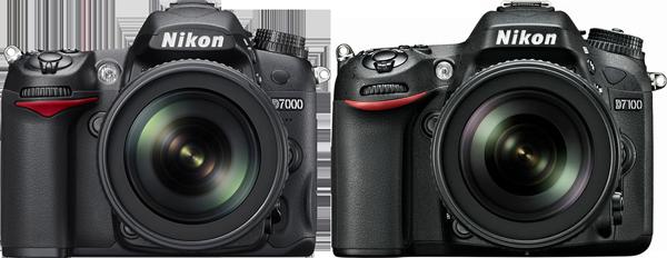 Nikon D7000 & D7100