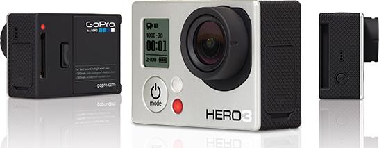 GoPro HERO3GoPro HERO3 ホワイトエディション