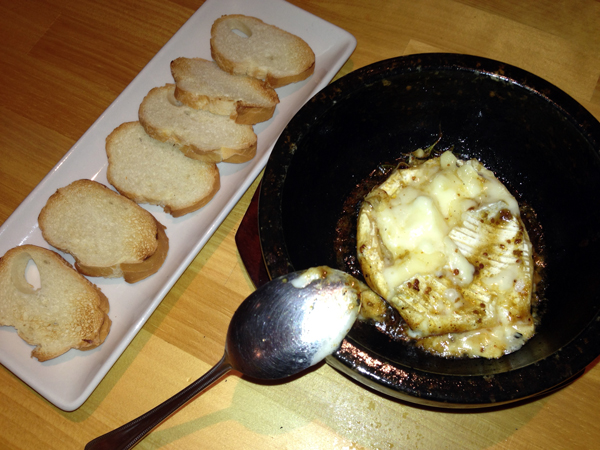 石焼きカマンベールチーズ