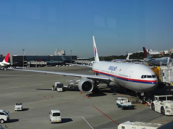 マレーシア航空の機体