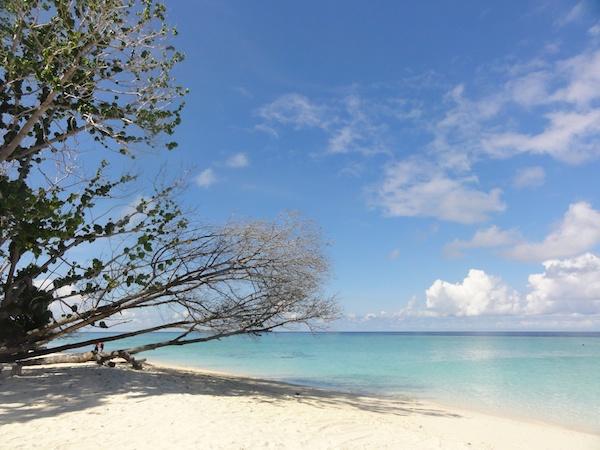 マブール近郊の島
