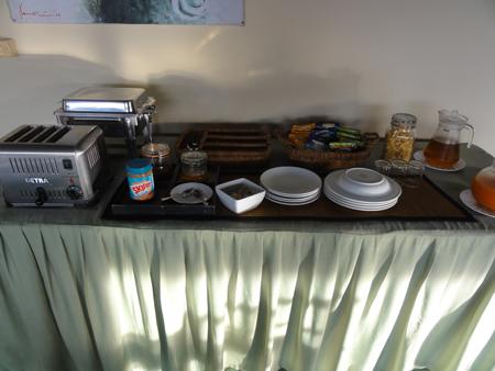 カサワリレンベリゾートの早朝軽食