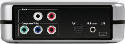 EyeTV-HDの背面