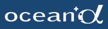 ocean αのロゴ