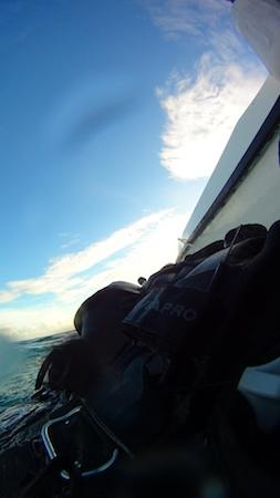 シパダンでの水面写真