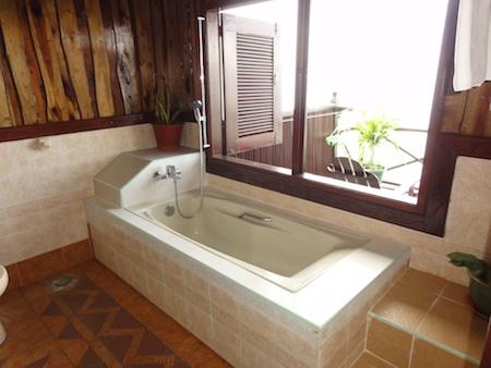 カパライのバスルーム