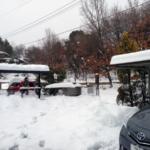 週末ごとの雪