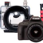 Canon EOS Kiss X7用の水中ハウジング