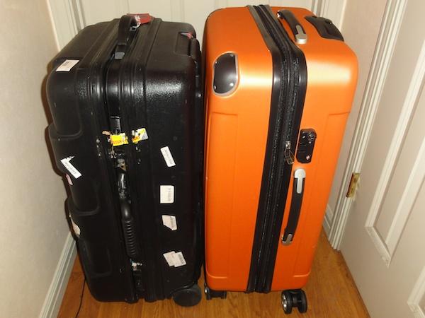 ヘレイワホのスーツケース