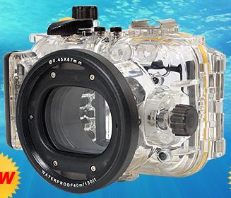 サンコーレアモノショップのPowerShot S120用水中ハウジング
