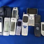 歴代の携帯