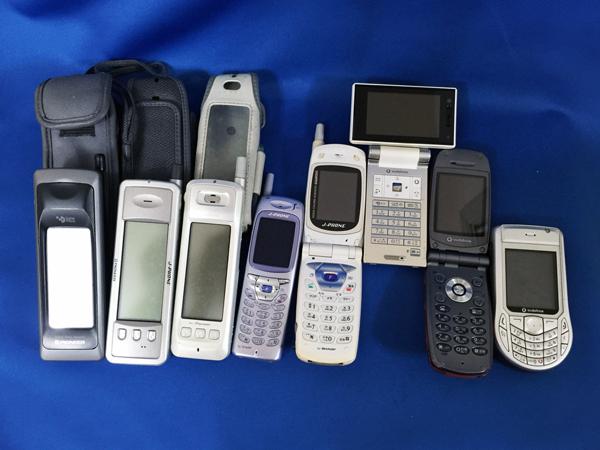 私の歴代の携帯電話
