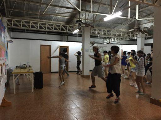 BAYSIDE English Cebu RPCのZumba