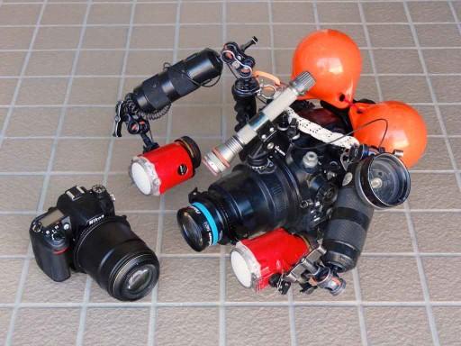私のNikon D7000水中カメラセット