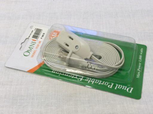 フィリピンで買った電源延長ケーブル