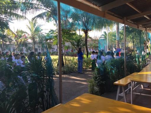 BAYSIDE English Cebu RPCの朝礼