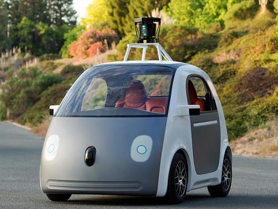 Googleの自動運転実験車