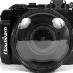 Canon EOS M3用の水中ハウジング