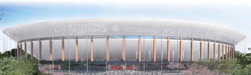 新国立競技場のB案