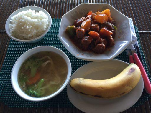 サンビームの朝食例