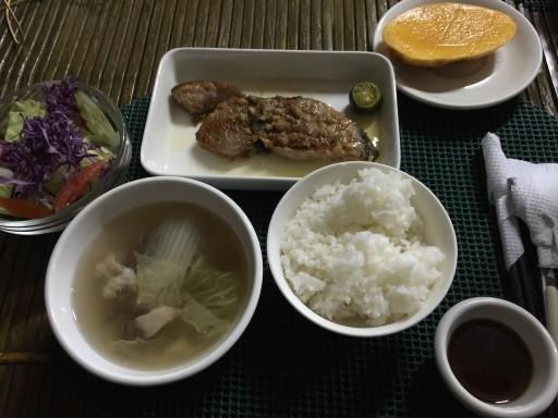 サンビームの夕食例