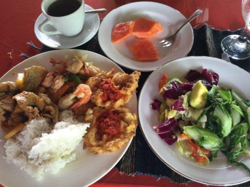 バスティアノスダイブリゾートの夕食例
