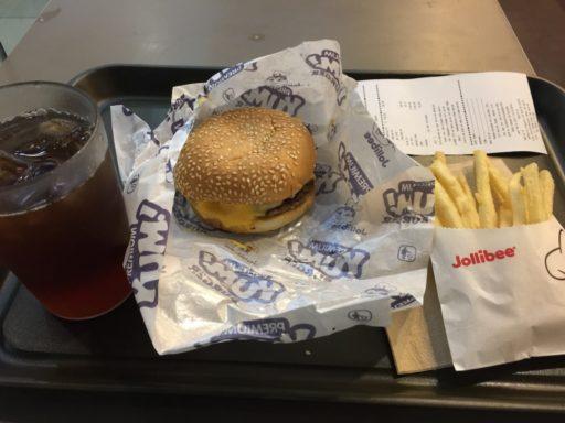 Jollibeeのハンバーガー