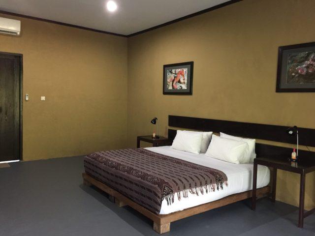Maluku Diversのガーデンルームの室内